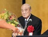 白寿を祝う会に出席した中曽根元首相