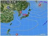 31日の天気図
