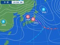 1月29日午前9時の予想天気図
