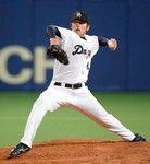3勝目をあげた濱田投手