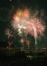 長良川中日花火大会