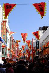 神戸中華街の春節祝