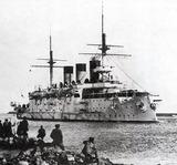 1894年竣工のロシア海軍の戦艦オスラービア