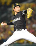 6回まで完全ペースのソフトB武田投手