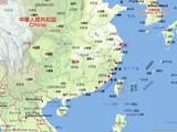 中国の主要採捕地