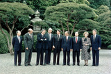 日本で開催されたサミットに参加した各国の首脳