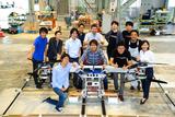 日本のスカイカー開発スタッフ