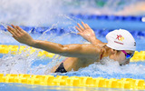 100mバタフライで優勝した池江璃花子選手