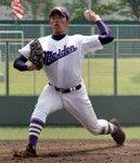 10安打5失点の濱田投手