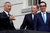 ワシントン入りして会談に臨む劉鶴副首相