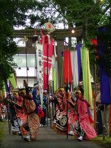 演舞・神社
