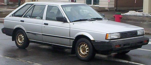 4-Door_2nd_Gen_Sentra_Hatch