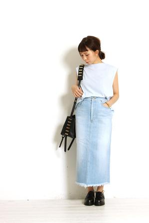 Denim Skirt + G.V.G.V.