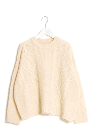 Cable sweaters+maomade