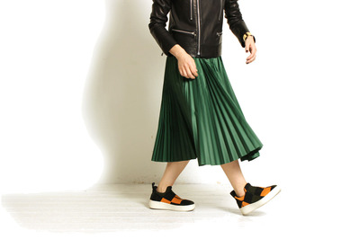 Leather + Skirt Styling!!