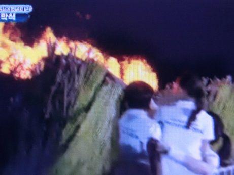 イ・ヨンエ聖火点火