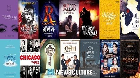 2015年冬韓国ミュージカル期待作