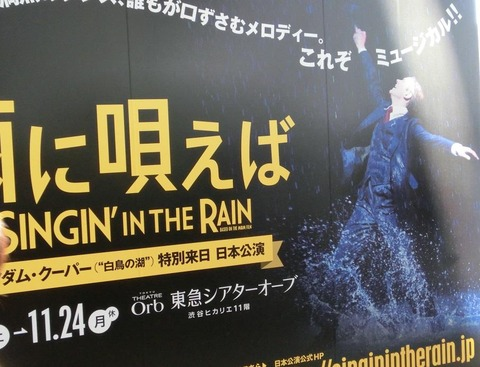 SINGIN' IN THE RAIN 雨に唄えば