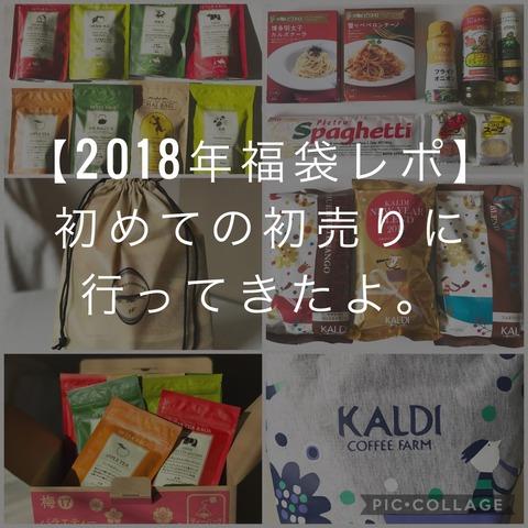 【2018年福袋レポ】北野エース・カルディ・ルピシアの福袋の中身レポ!