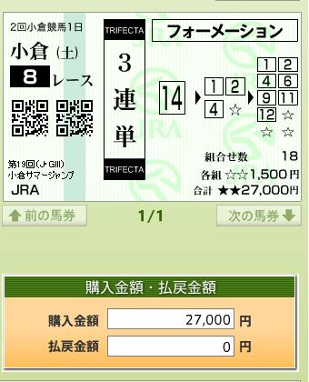 小倉サマージャンプ