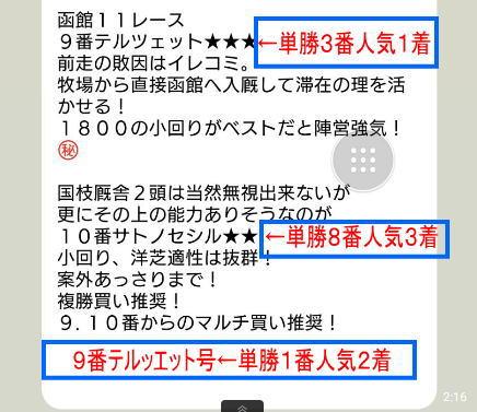 函館11RクイーンS