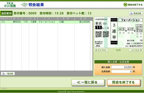 第158回天皇賞秋