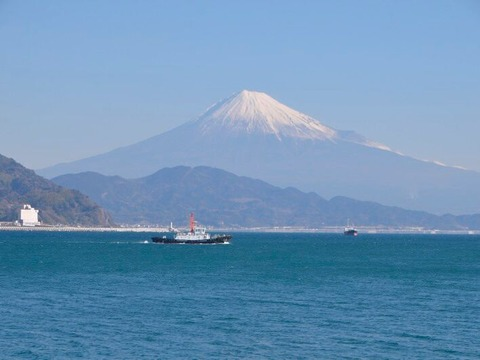 内浜から富士2
