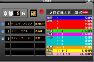 京都9R掲示板