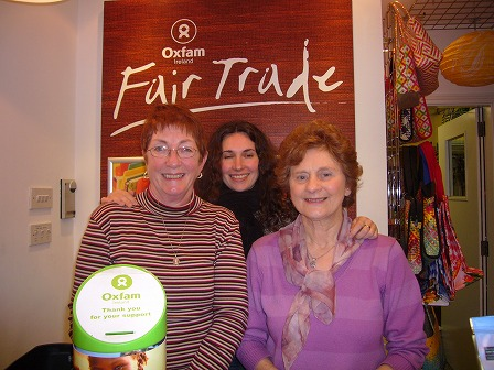 Oxfamゴールウェイのスタッフ
