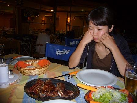 最後のアルゼンチンの食事