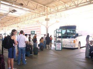 バンクーバー発シアトル行きのバス