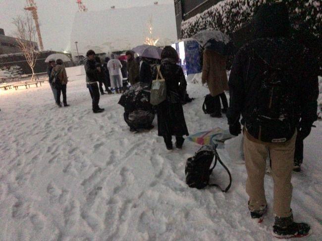 【速報】AKB48の全握が大雪でヤバい・・・(握手会)【ゼビオアリーナ仙台】