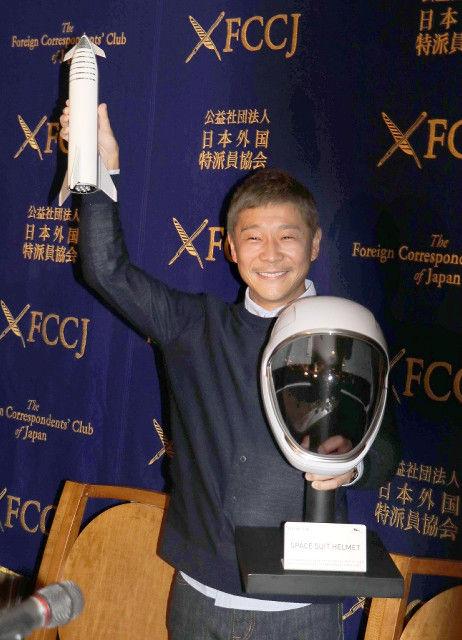 【ZOZO】前澤社長、自身の子供たちに月旅行を報告「パパが先に行って見てくる」