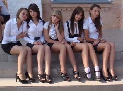 【画像】ロシアの女子高生なんでこんなシコいの?wwwww