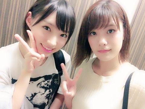 SKE48酒井萌衣「NMB48の太田夢莉ちゃんと仲良くなれた気がする。。笑」