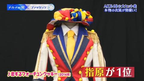 【ナカイの窓】AKB48恋チュンの衣装はタイの学生服をイメージしていた