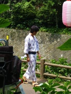 竹野内豊浴衣1