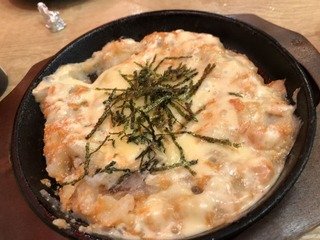 どらんの明太チーズ焼き