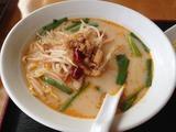 台湾菜館の台湾豚骨ラーメン
