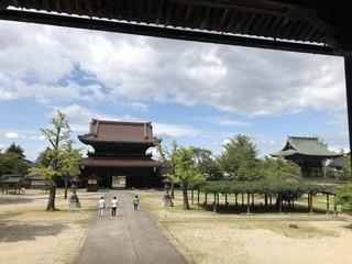 瑞泉寺本堂からの眺め