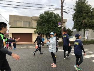 富山マラソンの野尻さん