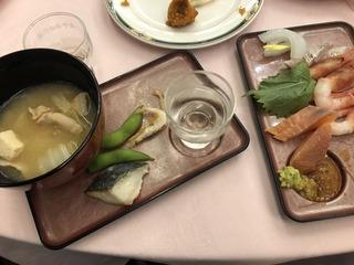 富山の地酒を楽しむ会のお料理