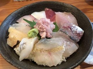 幸寿しの能登コンパクト丼