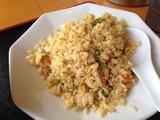 台湾菜館の炒飯