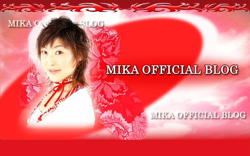 MIKA OFFICIAL BLOG