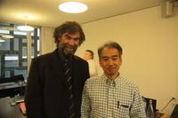 CIMA会長リチャード氏と日本の五十嵐委員