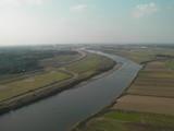 エリアに広がる利根川