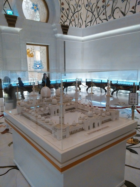 シェイク・ザイード・グランド・モスク アブダビ _20151230_202317