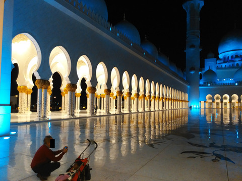シェイク・ザイード・グランド・モスク アブダビ _20151230_195413