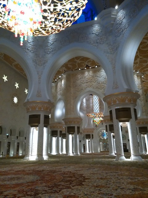 シェイク・ザイード・グランド・モスク アブダビ _20151230_201323